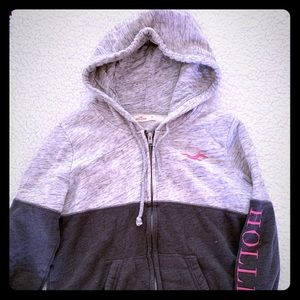 Hollister zippered sweatshirt